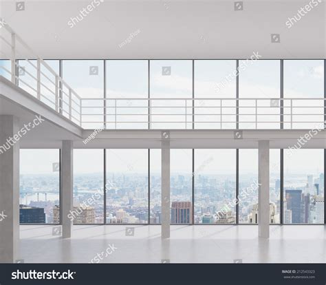 with a city view office space business center modern office stock photo Office