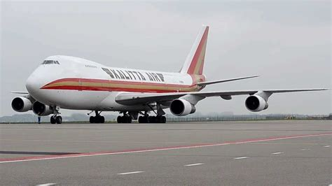 Kalitta Air Boeing 747-200 start up. - YouTube