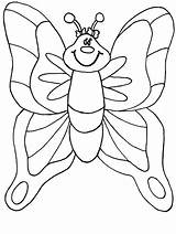 Coloring Butterfly Pages Butterflies Flowers Flower sketch template
