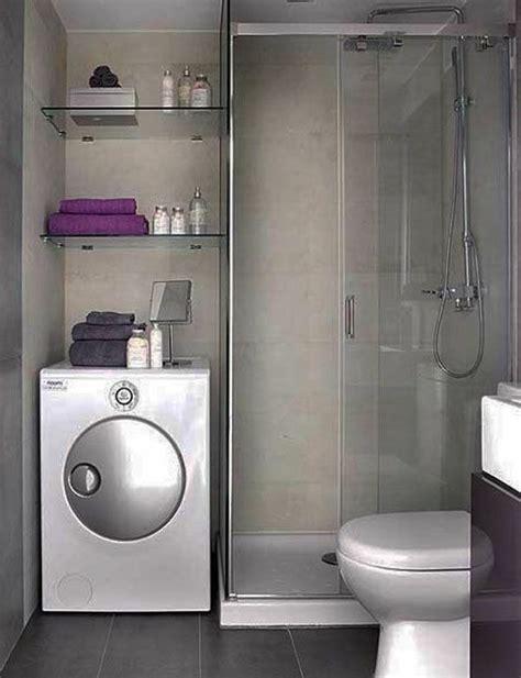 Kleines Badezimmer Mit Waschmaschine by 40 Design Ideen F 252 R Kleine Badezimmer Fliesen