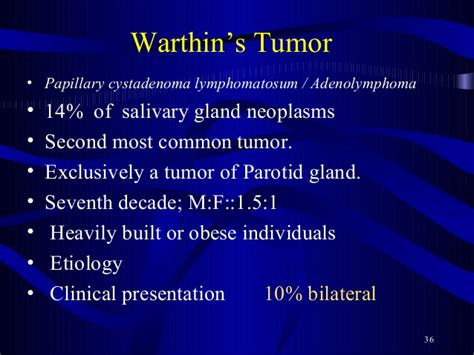 01 salivary gland tumors