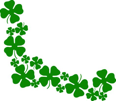Clover Clip Clovers Clipart Clipground