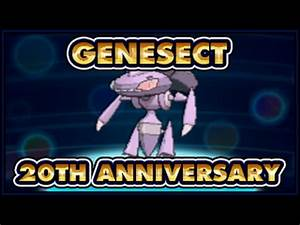 EVENT: Lv100 Genesect (2nd Chance Pokemon 20th Anniversary ...