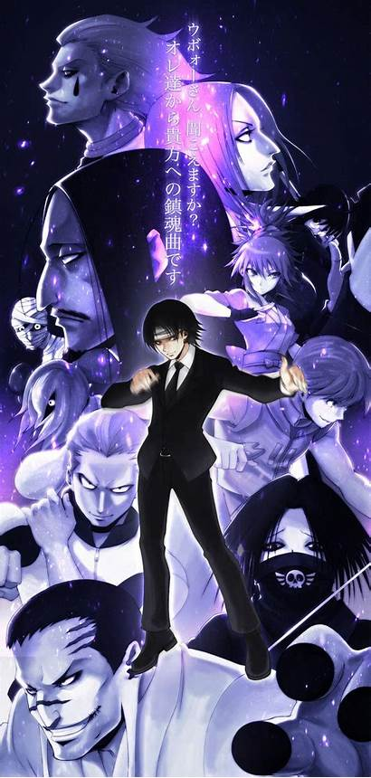 Phantom Troupe Hunter Anime Feitan Shizuku Chrollo