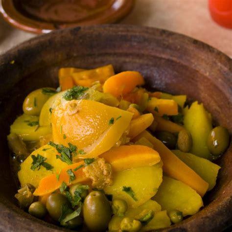recette tajine de poulet aux legumes  au citron facile