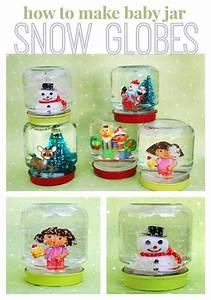 How to Make Snow Globes (using baby food jars)! (U Create)