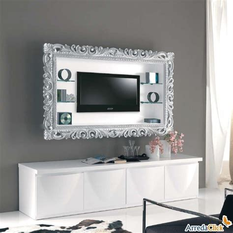 Tv Con Cornice by Cornice Appendi Tv Things Diy Tv Wall Mount