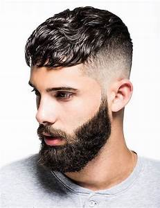 Stylish Mens Hairstyle With Beard 2016