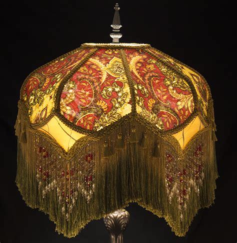 plain jane l shades victorian lamp shade paisley damask burgundy gold green