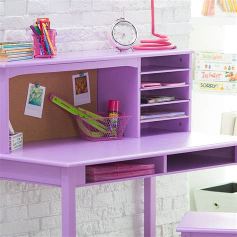 kids desk for girls computer desk chair set academic computer desk with hutch