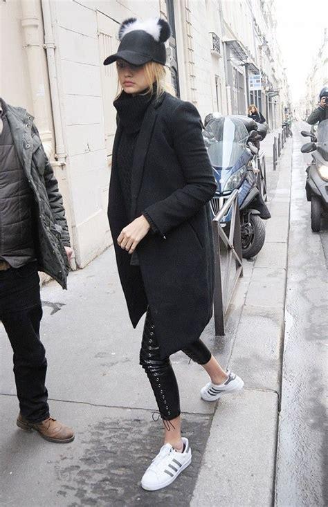 white sneaker trend isnt   fashion gigi hadid style style