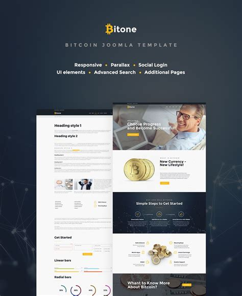 It comes with a responsive design, and the visual page. Bitcoin Cryptocurrency Website Template | Joomla templates, Joomla templates responsive, Joomla