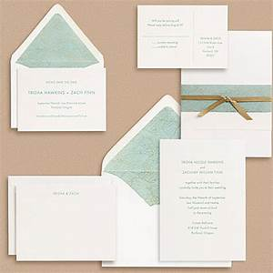 sans serif type wedding invitations invitation crush With different types of wedding invitation paper