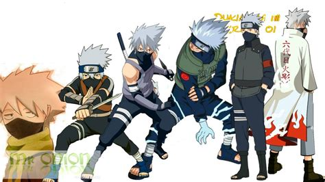 naruto hatake kakashis evolution youtube