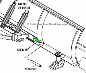 Meyer Sector Pivot Tubes    Sleeves For St And C Series Plows
