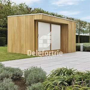 Chalet De Jardin Contemporain : abris de jardin contemporain delefortrie paysages ~ Premium-room.com Idées de Décoration