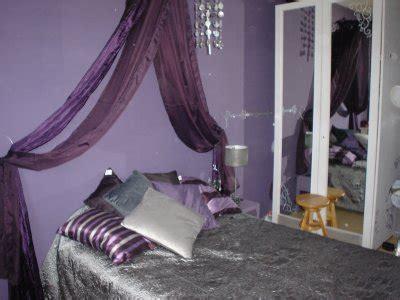chambre gris et violet une chambre dans les tons violet et gris d co
