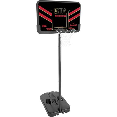 spalding portable basketball system nba highlight sport