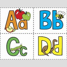 Colored Alphabet Flash Cards  Welcome To Little Genius