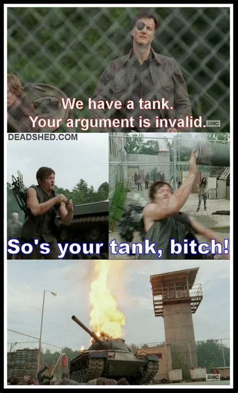 Walking Dead Season 4 Meme - deadshed productions war feels edition the walking dead 4x08 memes