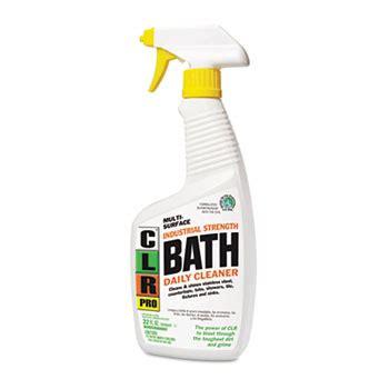 clr pro bath daily cleaner light lavender scent oz