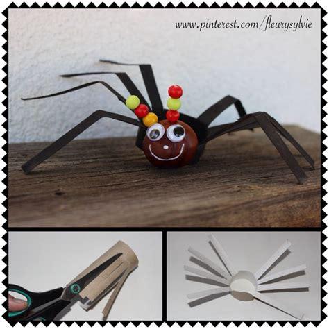 bricolage avec des marrons bricolage enfant araign 233 e avec un rouleau