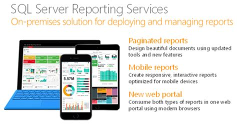 sql report designer deliver modern reports with sql server 2016 reporting services sql server