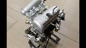 Mercedes 190 Sl Restoration Engine New Life By