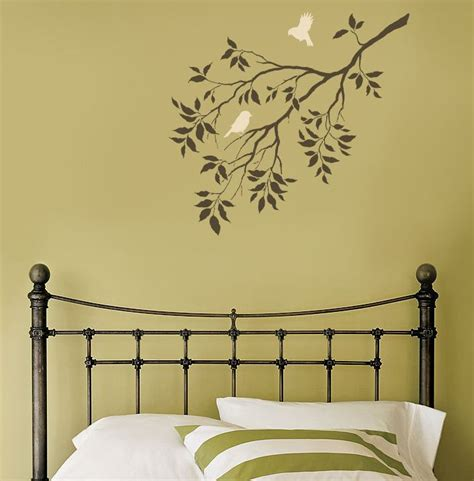 painting stencils how to decorate your room using