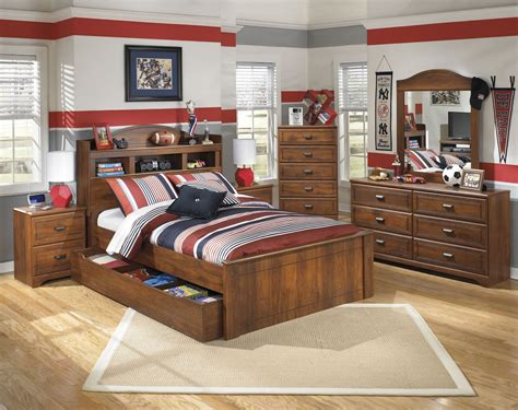 Bed Bookcase by Barchan Cherry Bookcase Bed With Trundle From