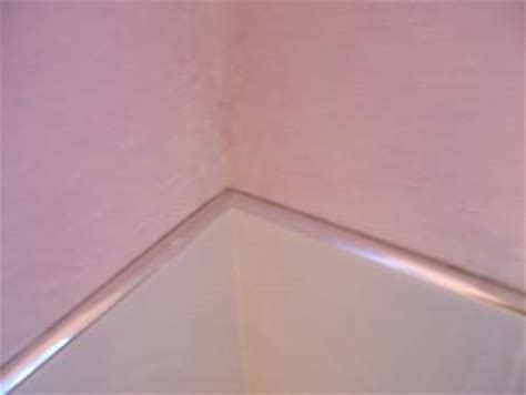 how to install tile base molding on diagonal tile floor