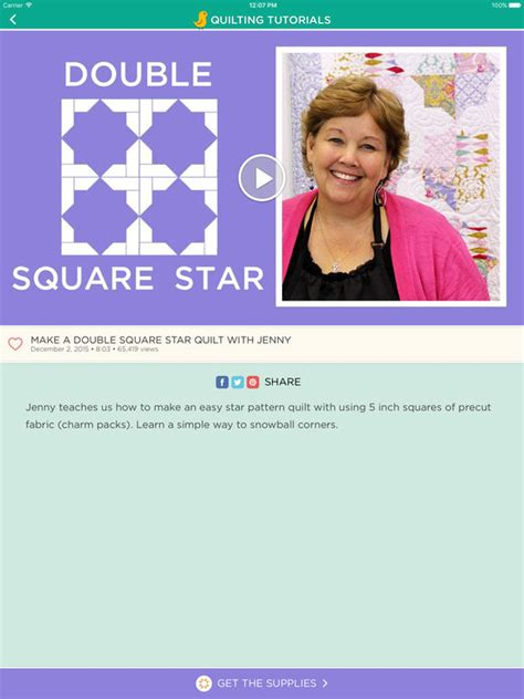 missouri quilt company app quilting tutorials by missouri quilt company apppicker