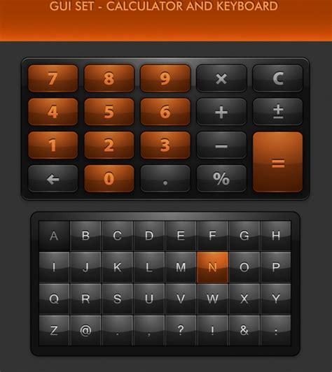 Gui Keyboard Numeric Keypad Icon Vector Texture Free
