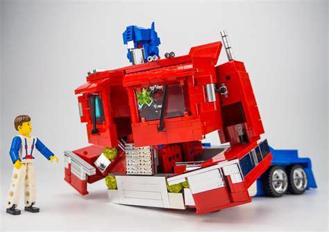 g1 optimus prime in lego version special lego themes eurobricks forums