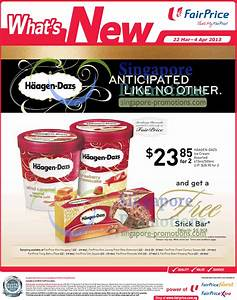 NTUC FairPrice FREE Stick Bar With Two Haagen-Dazs Ice ...