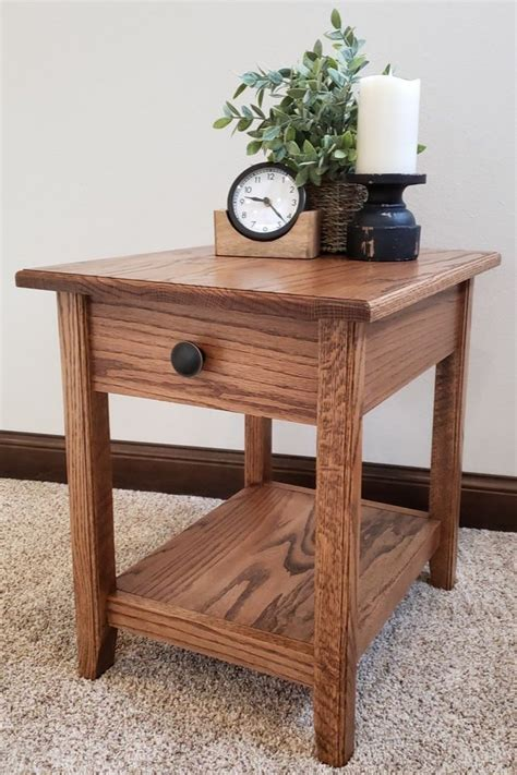drawer side table   modern woodworking projects