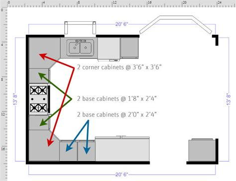 How To Draw Kitchen Floor Plans by How To Draw A Floor Plan With Smartdraw