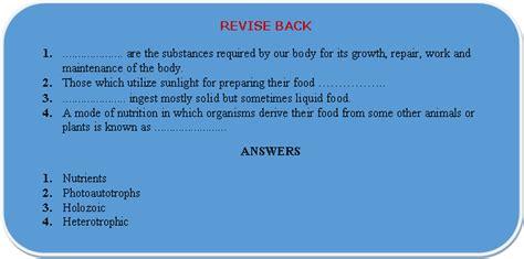 nutrition  animals class  ncert grade  science book