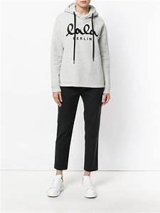 Lala Berlin Hoodie : lyst lala berlin hooded sweatshirt in gray for men ~ Jslefanu.com Haus und Dekorationen
