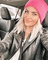 "Sarah Nicole Landry on Instagram: ""Hot pink girl winter 💕 ..."
