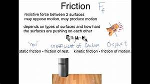 Forces  Gravity  Normal  Friction