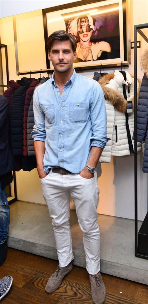 Menu2019s Denim Shirt Inspiration | MenStyle1- Menu0026#39;s Style Blog | Menu0026#39;s Stylish Looks | Pinterest ...