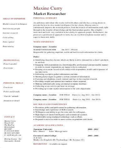 sle marketing skills resume 8 exles in word pdf