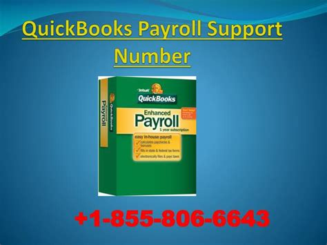 quickbooks payroll tech support phone number ppt quickbooks payroll tech support number and customer