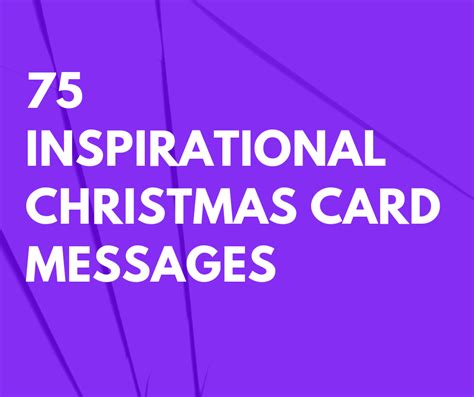 inspirational christmas card messages  family