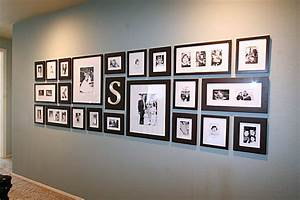 How to hang a family photo gallery robeson design