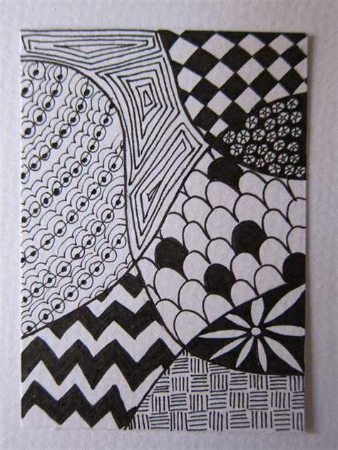zentangle patterns zentangle  beginners  patterns