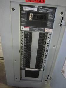 Siemens I1x30mc250c Breaker Panelboard 125 Amp 208y  120