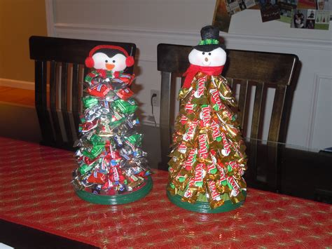 candy bar christmas trees things i made pinterest
