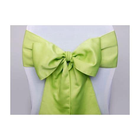 tissu satin noeud de chaise vert anis noeuds chaise mariage creative emotions